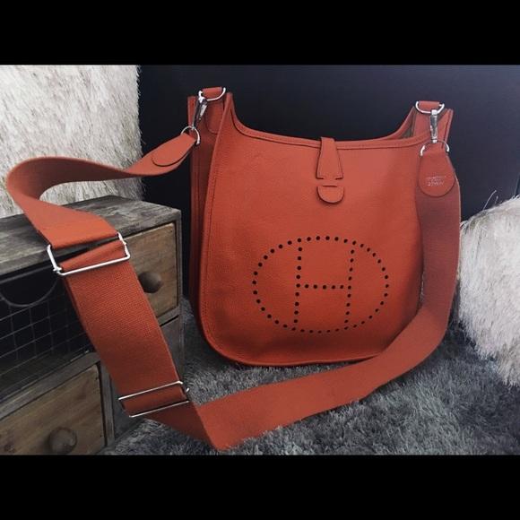 2348278d9aa5 Hermes Handbags - Authentic Hermès Evelyn GM bag